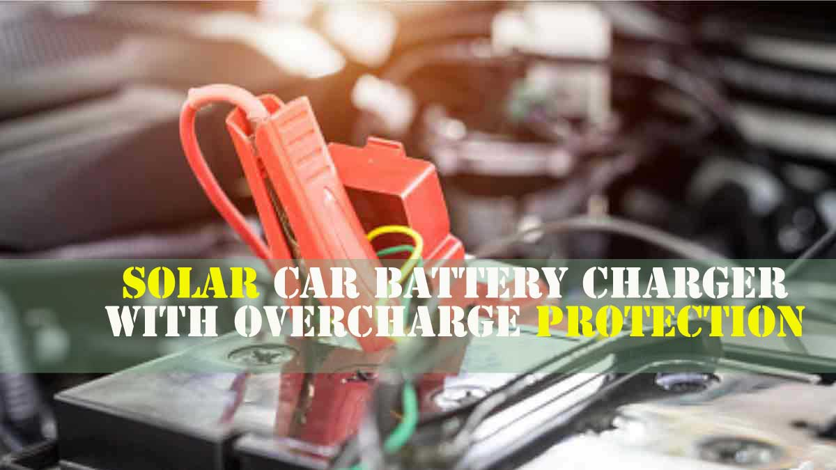 Solar Car Battery Charger a must have accessory