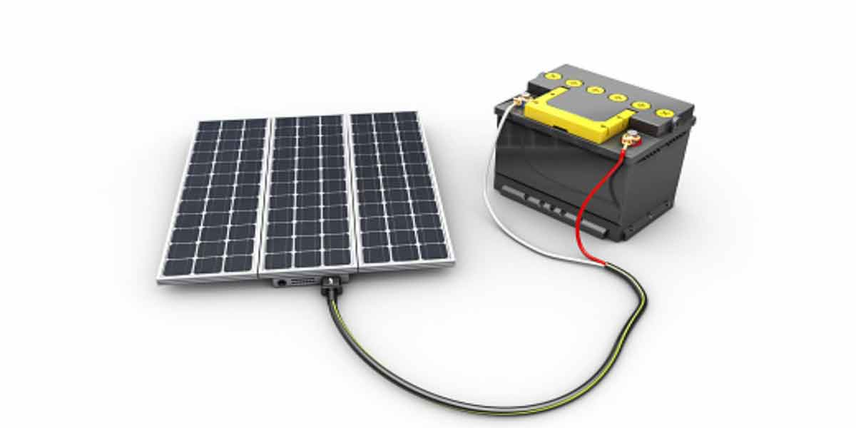 Rechargeable batteries for Solar Panels
